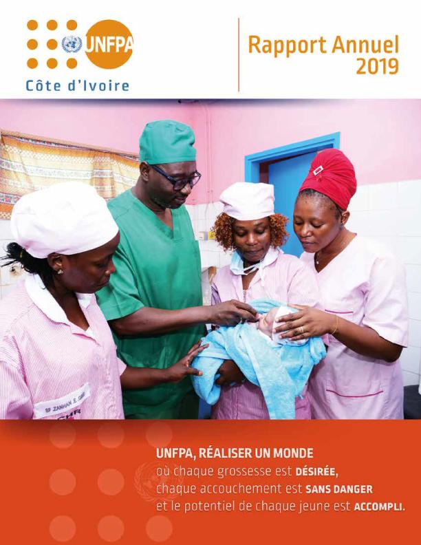 Rapport Annuel 2019 de l'UNFPA en Côte d'Ivoire